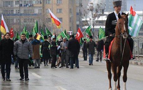 Çerkesler Ankara'dan seslendi