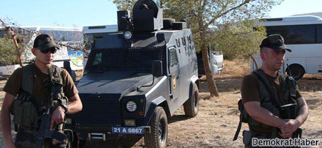 Ceylanpınar konvoyuna polis saldırısı