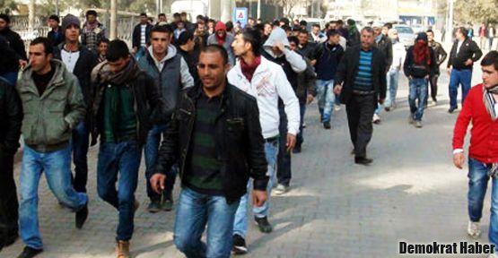 Ceylanpınar'da halk sokakta: Çeteleri istemiyoruz!