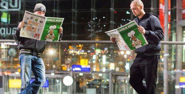 Charlie Hebdo mola verdi