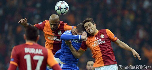 Chelsea avantajlı, Galatasaray umutlu ayrıldı