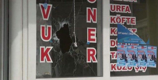 CHP seçim irtibat bürosuna silahlı saldırı