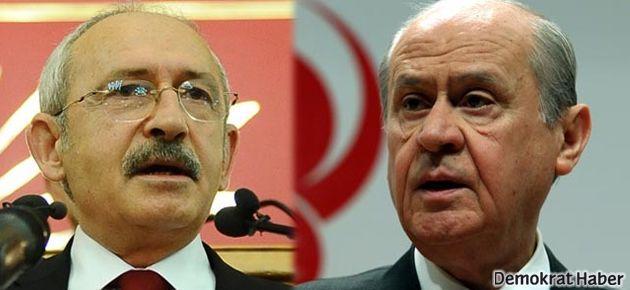 CHP ve MHP'den 'Çözüm Komisyonu'na üye yok!