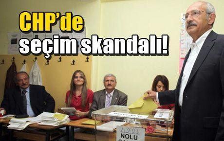 CHP'de seçim skandalı!