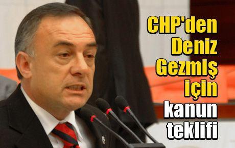 CHP'den Deniz Gezmiş için kanun teklifi
