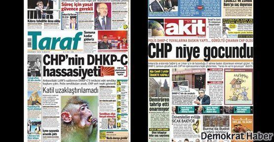 CHP'den Yeni Akit ve Taraf'a suç duyurusu