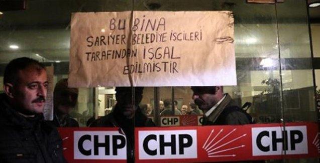 CHP'yi işgal eden işçilere tazminatları ödendi