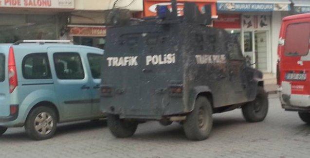 Cizre'de hiçbir zırhlı araçta plaka yok!