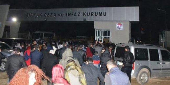 Cizre'deki 'KCK davası'nda 23 kişi tahliye edildi