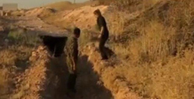 CNN Tel Abyad'da IŞİD tünellerini görüntüledi