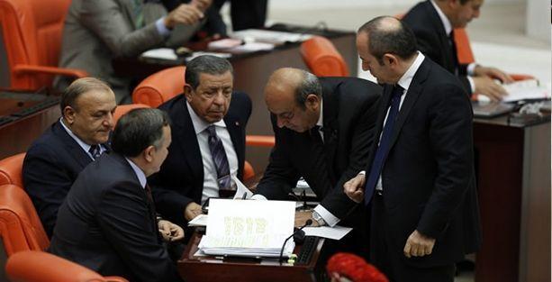 Çözüm tasarısı görüşmelerinde HDP ile MHP arasında sert tartışma