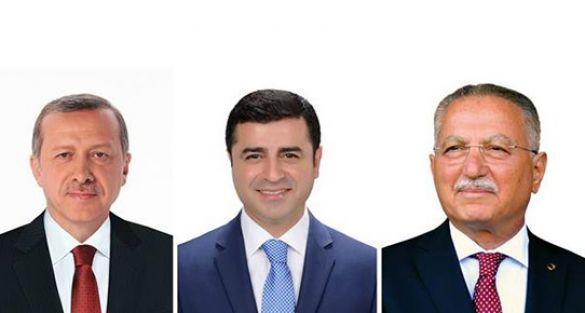 Cumhurbaşkanı adaylarının bağış miktarları açıklandı