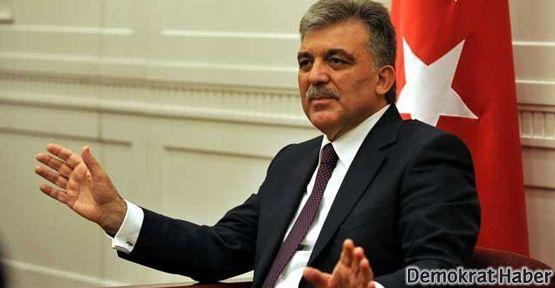 Abdullah Gül: Karşı taraf da samimiyetini göstermeli