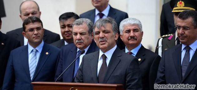 Cumhurbaşkanı Gül Reyhanlı'daydı