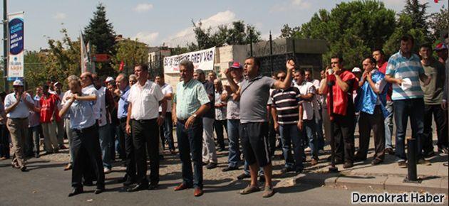 Darphane'de grev kırıcılığının önü açıldı