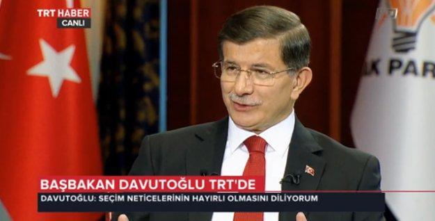 Davutoğlu: Hiçbir opsiyonu dışlamadan diğer partilerle işbirliğini konuşuruz