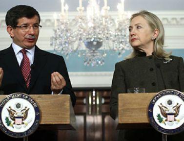 Davutoğlu'nun ABD'de Suriye girişimleri