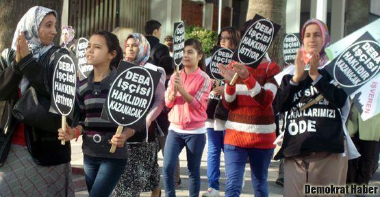 DEBA işçisi, Sivri ailesi şirketlerinden alacaklarını istiyor