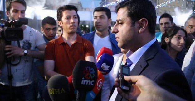 Demirtaş: HDP barajı aşmasaydı siz şu anda koalisyon falan tartışıyor olmayacaktınız