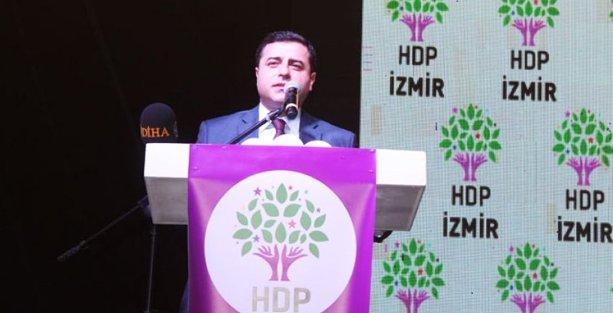 Demirtaş: HDP bayrağı altında seçime gireceğiz, AKP'yi de yıkacağız