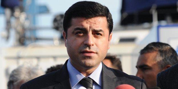Demirtaş'tan 'türbe operasyonu' açıklaması