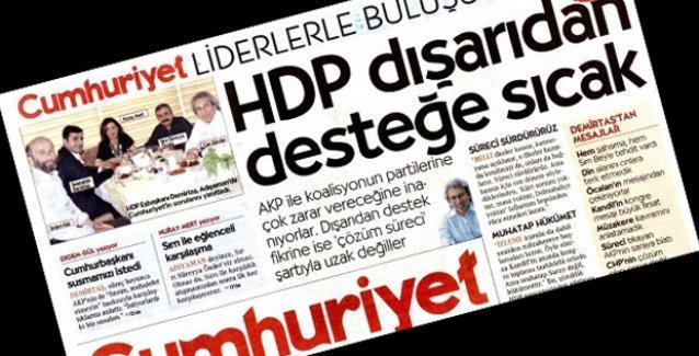 Demirtaş'ın tekzibi ardından Can Dündar'dan tepki çeken 'yanıt'