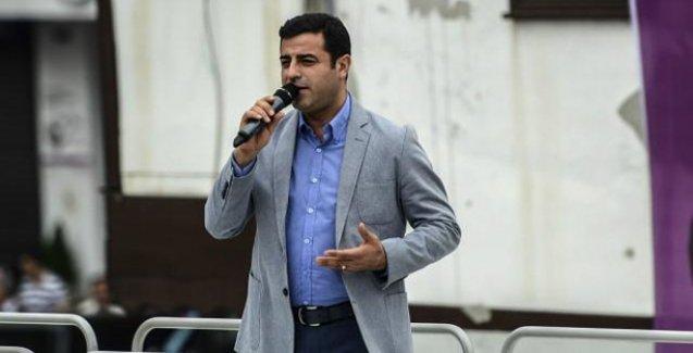 Demirtaş: Diyarbakır'da kirli bir tezgah sahneleniyor