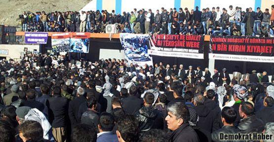 Demirtaş: Kürdistan olmalı ki Roboski'nin hesabı verilsin