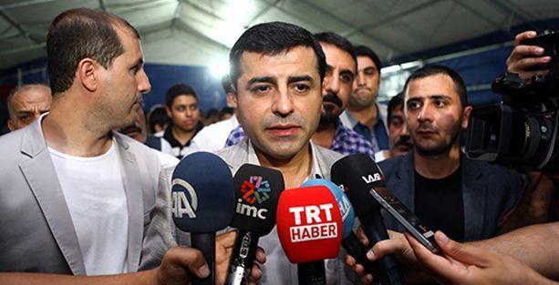 Demirtaş: Önemli olan İhsanoğlu'nun cevabı