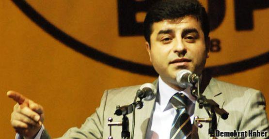Demirtaş: Şahin Öner'i polis aracı ezdi