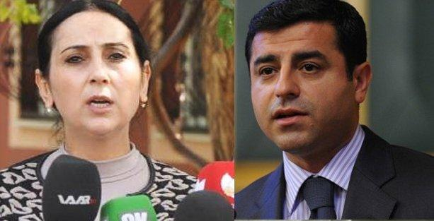 Demirtaş ve Yüksekdağ hakkında müebbet hapis talebiyle suç duyurusu