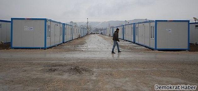 Depremzedeler Konteyner Kent'ten Ankara'ya yürüyecek