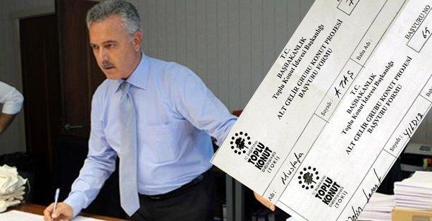Dersim'de 'alt gelir gurubu' için konut yapıldı, AKPli vekil ve başkan aldı!