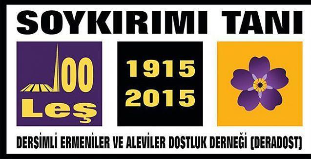 Dersimli Ermenilerden AKP hükümetine 'buyur yüzleş' çağrısı