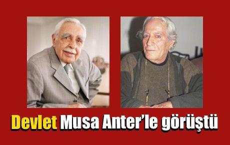 'Devlet, Musa Anter'le görüştü'
