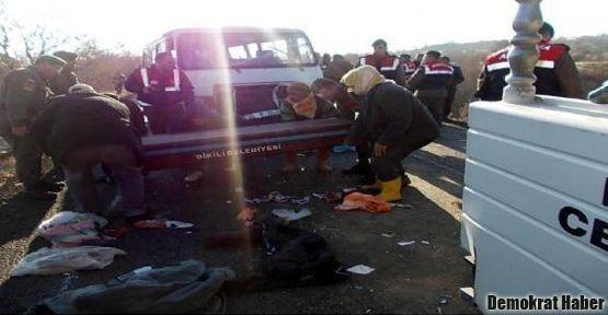 Dikili'de 1 işçi öldü, 18 işçi yaralı