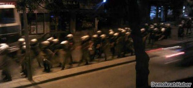 Dikmen'de polis, kadın-çocuk demeden saldırdı