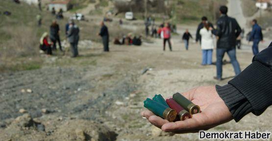 Dikmen'de yıkım için gelenler halka silahla saldırdı