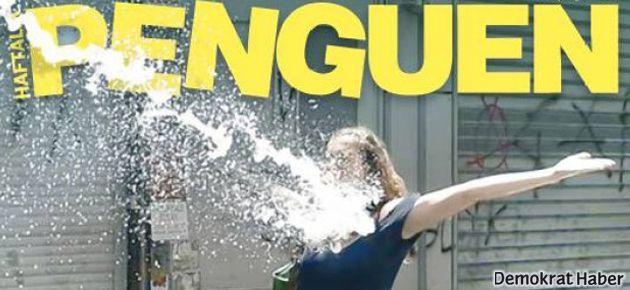 'Direniş' Penguen'in kapağında