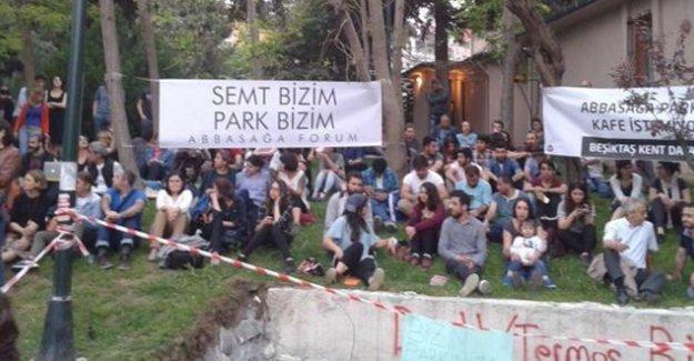 Direniş sonuç verdi, Abbasağa Parkı'na kafe yapılmayacak!