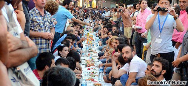 Direnişçinin 'erken iftar' suçu!