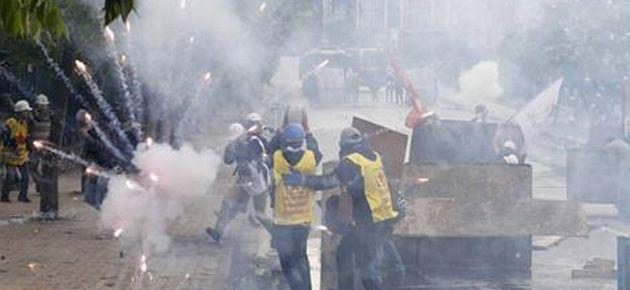 DİSK'in Taksim yürüyüşüne müdahale