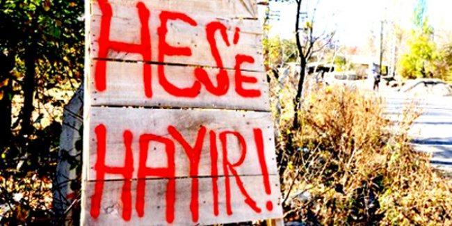 Diyarbakır'da HES'lere karşı çadır eylemi yapılacak