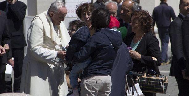 Diyarbakır heyeti Papa'dan sürece destek istedi