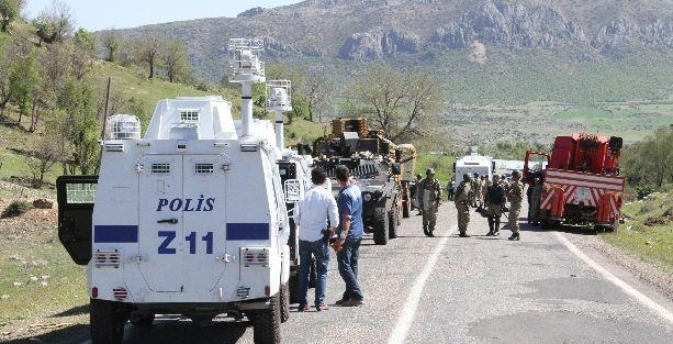 Diyarbakır-Lice yolu altı gündür kapalı