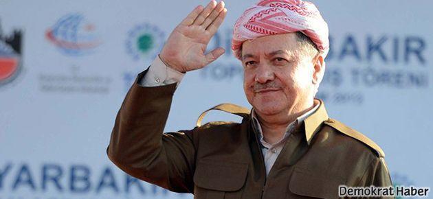 Diyarbakır'da Barzani'den barış mesajları