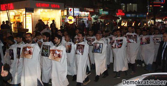 Diyarbakır'da Halepçe'de ölenler anıldı