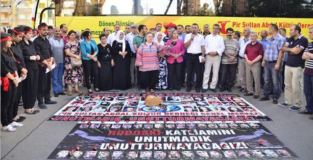 Diyarbakır'da Madımak anması