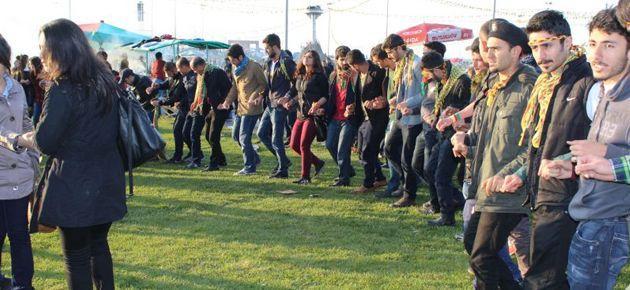 Diyarbakır'da Newroz kutlamaları başladı