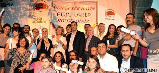 Diyarbakır'daki Ermeniler anadillerini öğreniyor